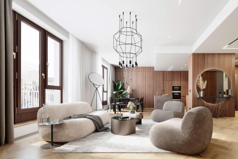 Living room in City Gate