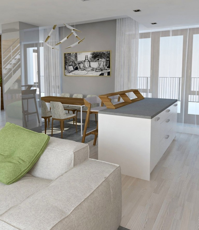 Vizualizácie bytov